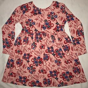 Hanna Andersson playdress daydress dress pink 120